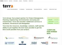 Terra Consultants's website