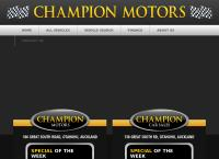 Champion Motors's website