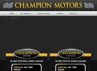 Champion Motors's website