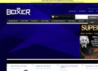 New Zealand Boxing Supplies's website