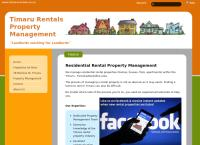 Timaru Rentals's website