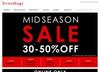 Strandbags Wellington's website
