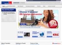 Travelex Currency Services -Dunedin's website