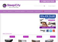 Sleep City's website