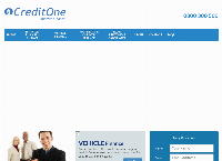 Credit one Limited's website