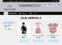 YOLO Store Limited's website
