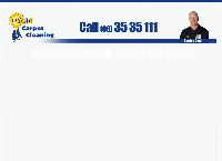 Gold Carpet Cleaning's website