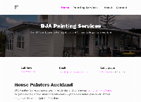 BJA Painting Services's website